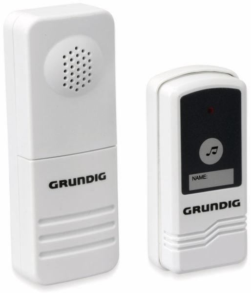 Funk-Türglocke GRUNDIG 04350, Batteriebetrieb - Produktbild 1