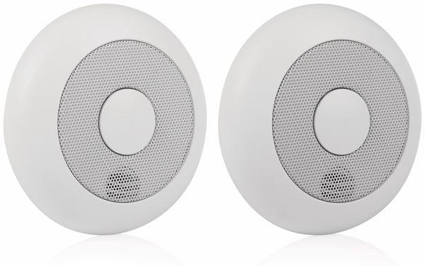 Funk-Rauchmelder SMARTWARES RM175RF, 2 Stück