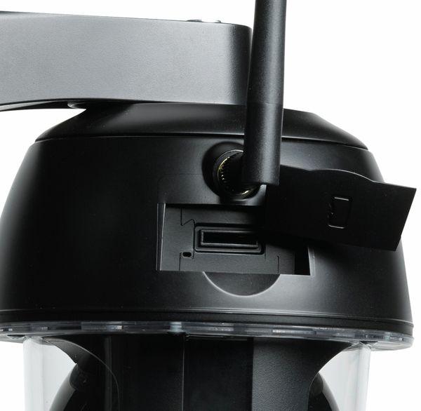 Überwachungskamera DENVER IPO-2030, IP, WLAN, FullHD, außen, schwarz - Produktbild 3
