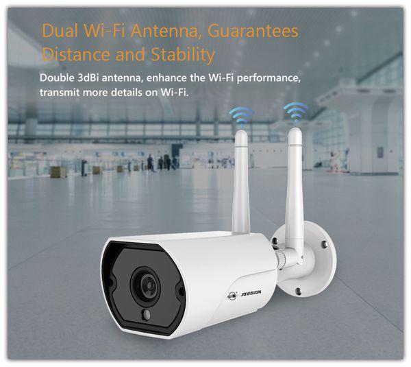 Überwachungskamera JOVISION JVS-H302-A2, IP, Wlan, außen, FullHD - Produktbild 5