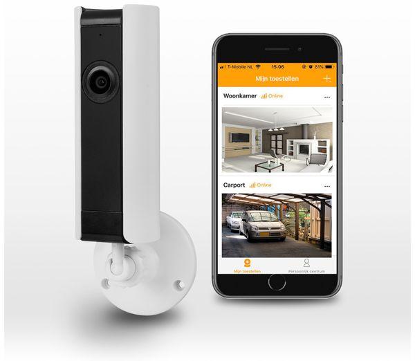 IP Kamera SMARTWARES CIP-37183, 180°, WLAN, Indoor - Produktbild 7