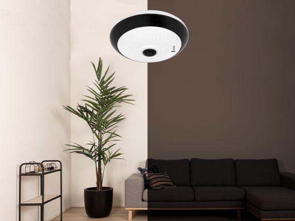 IP Kamera SMARTWARES CIP-37363, 360°, WLAN, Indoor - Produktbild 2
