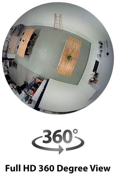 IP Kamera SMARTWARES CIP-37363, 360°, WLAN, Indoor - Produktbild 3