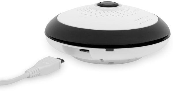 IP Kamera SMARTWARES CIP-37363, 360°, WLAN, Indoor - Produktbild 10
