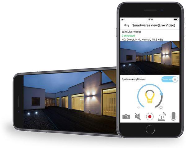 Überwachungskamera SMARTWARES CIP-39901, inkl. Licht, WLAN, Outdoor - Produktbild 13