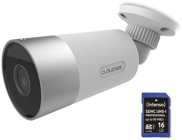 Überwachungskamera-Set JVS-DC810C, Wlan, In- und Outdoor, inkl. 16 GB SD-Karte