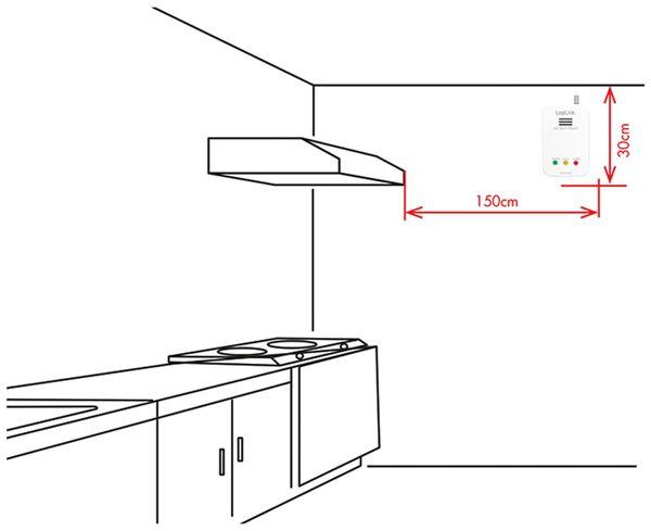 Gasmelder LOGILINK SC0103 - Produktbild 5