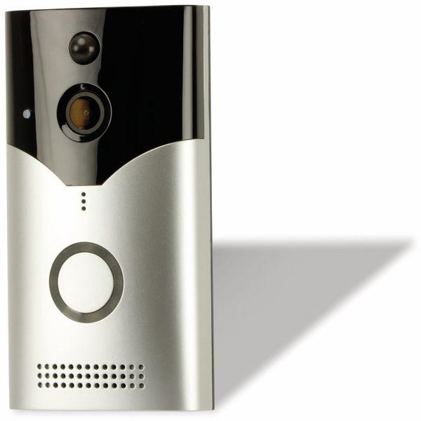 Türsprechanlage DAYHOME VTK-424, WLAN, 1080p, inkl. Innenraum-Alarm - Produktbild 3