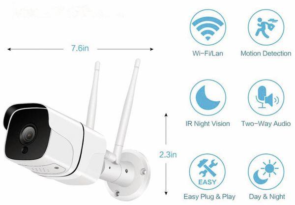 Überwachungskamera DENVER SHO-110, IP, WLAN, außen - Produktbild 5