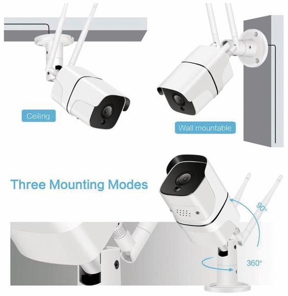 Überwachungskamera DENVER SHO-110, IP, WLAN, außen - Produktbild 6