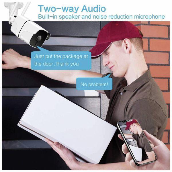 Überwachungskamera DENVER SHO-110, IP, WLAN, außen - Produktbild 7