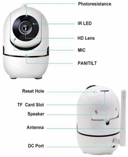 IP-Kamera DENVER SHC-150. IP, WLAN, Indoor - Produktbild 6