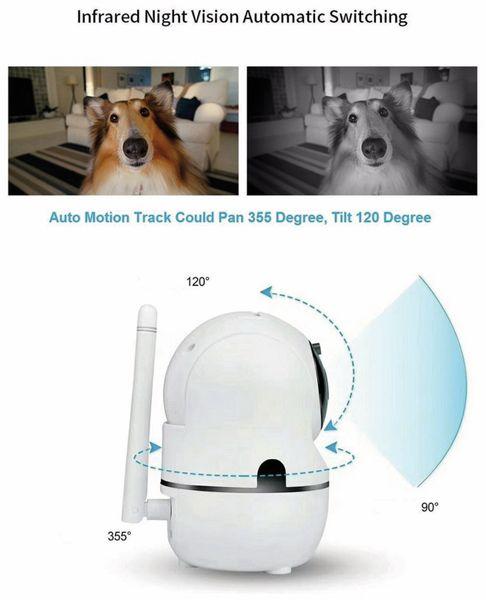 IP-Kamera DENVER SHC-150. IP, WLAN, Indoor - Produktbild 9