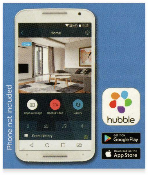 Überwachungskamera MOTOROLA Focus 71, WiFi, HD, weiß - Produktbild 5