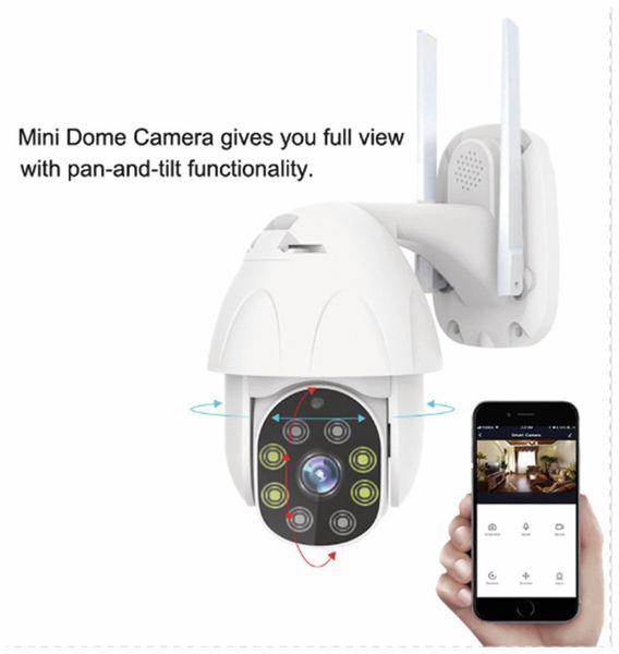 Überwachungskamera DENVER IOC-221, IP, WLAN, außen - Produktbild 7