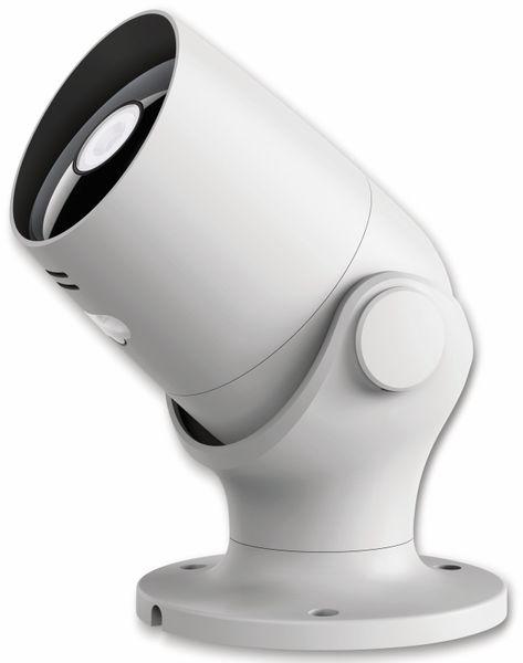 Überwachungskamera HAMA Outdoor, WLAN, Nachtsicht, 1080p, weiß