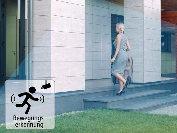 Überwachungskamera HAMA Outdoor, WLAN, Nachtsicht, 1080p, weiß - Produktbild 9