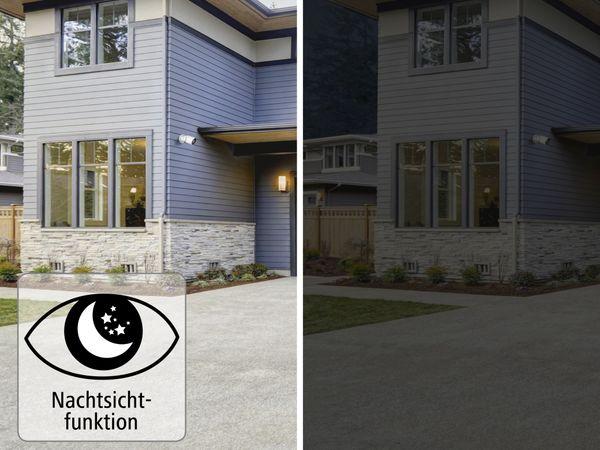 Überwachungskamera HAMA Outdoor, WLAN, Nachtsicht, 1080p, weiß - Produktbild 10