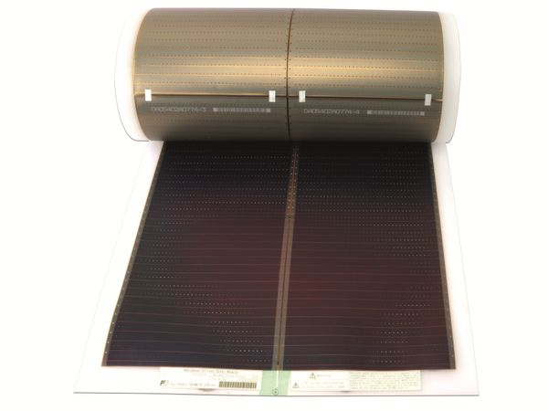 Flexibles Solarmodul FUJI ELECTRIC FWAVE FPV1096SLN, 92 W - Produktbild 2