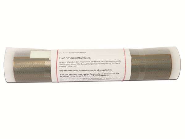 Flexibles Solarmodul FUJI ELECTRIC FWAVE FPV1096SLN, 92 W - Produktbild 4