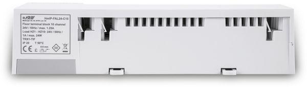 HOMEMATIC IP 143238A0, Fußbodenheizungsaktor 10-fach, 24 V - Produktbild 7