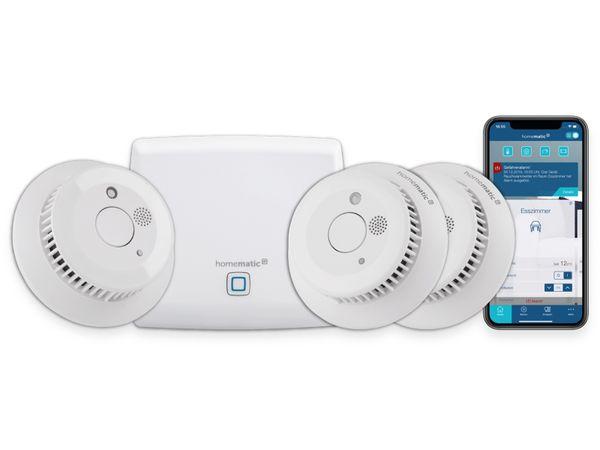 Smart Home HOMEMATIC IP 150788A0, Smart Home Starter Set Rauchwarnmelder