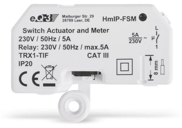 Smart Home HOMEMATIC IP 142721A0 Schalt-Mess-Aktor, 5 A, Unterputz - Produktbild 2
