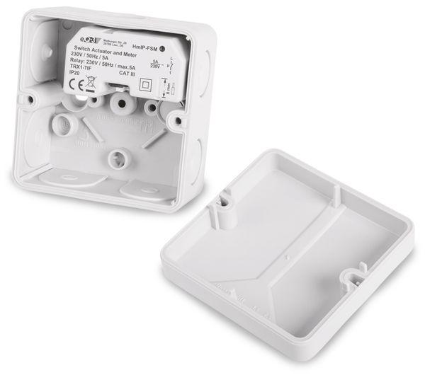 Smart Home HOMEMATIC IP 142721A0 Schalt-Mess-Aktor, 5 A, Unterputz - Produktbild 6
