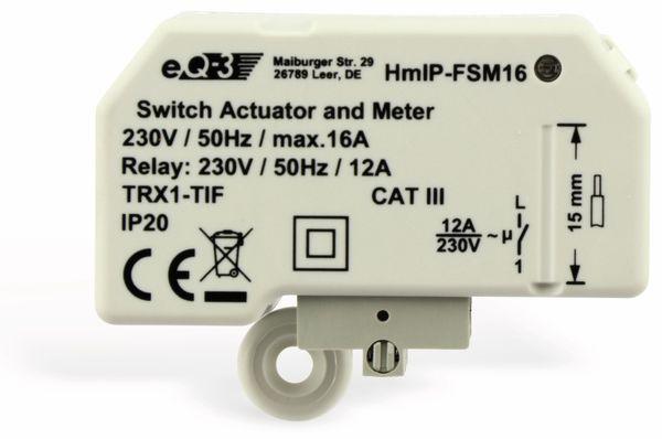 Smart Home HOMEMATIC IP 150239A0 Schalt-Mess-Aktor, 16A, Unterputz