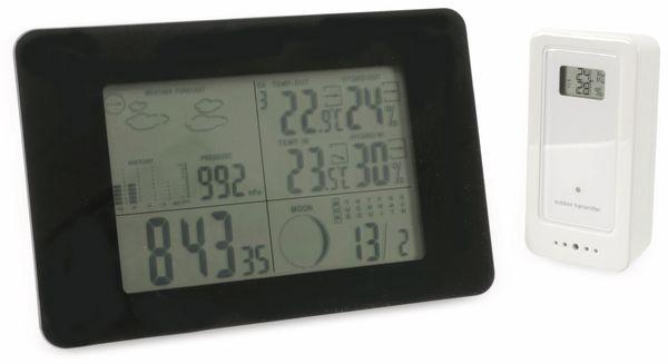 Funk-Wetterstation GT-WS-05s, horizontal, schwarz, B-Ware