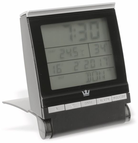 Funkreisewecker GT-FRWe, schwarz - Produktbild 12