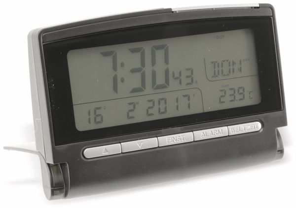 Funkreisewecker GT-FRWe, schwarz - Produktbild 16