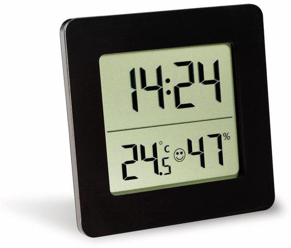 Digitales Thermo-Hygrometer TFA, 30.5038.01, schwarz