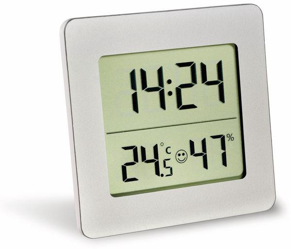 Digitales Thermo-Hygrometer TFA, 30.5038.54, silber