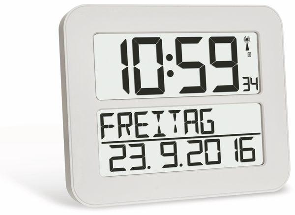 Wanduhr TFA TimeLine Max 60.4512.02, weiß
