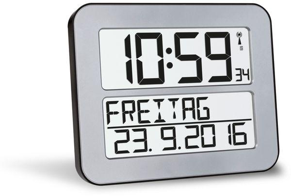 Wanduhr TFA TimeLine Max 60.4512.54, silber