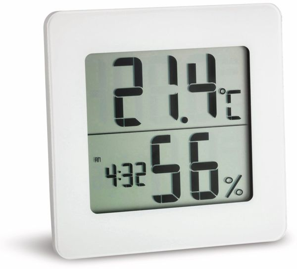 Digitales Thermo-Hygrometer TFA 30.5033.02, weiß