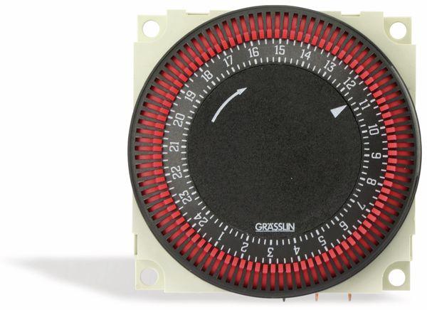 Einbau-Zeitschaltuhr GRÄSSLIN FM/1 STu, 24 h, 230V~ - Produktbild 1