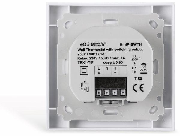 HOMEMATIC IP 150628A0, Wandthermostat mit Schaltausgang für Markenschalter - Produktbild 5