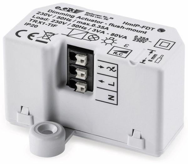 Smart Home HOMEMATIC IP 150609A0, Dimmaktor, Unterputz, Phasenabschnitt