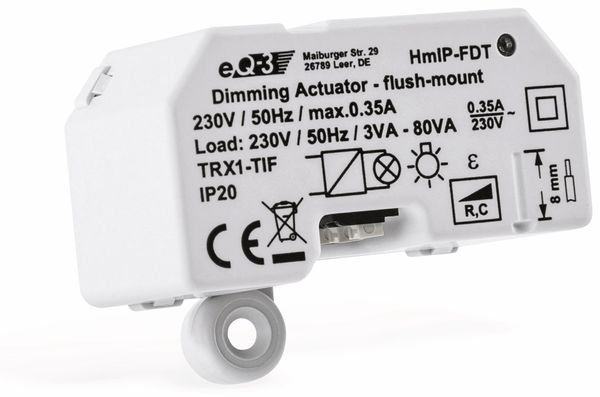 Smart Home HOMEMATIC IP 150609A0, Dimmaktor, Unterputz, Phasenabschnitt - Produktbild 4