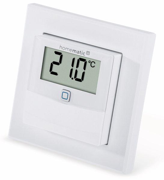 Smart Home HOMEMATIC IP 150180A0, Temp. und Luftfeucht. Sensor mit Display