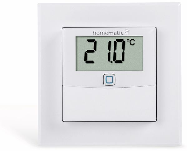 Smart Home HOMEMATIC IP 150180A0, Temp. und Luftfeucht. Sensor mit Display - Produktbild 2