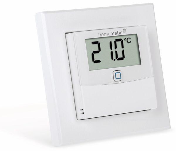 Smart Home HOMEMATIC IP 150180A0, Temp. und Luftfeucht. Sensor mit Display - Produktbild 3
