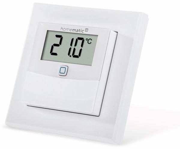 Smart Home HOMEMATIC IP 150180A0, Temp. und Luftfeucht. Sensor mit Display - Produktbild 4