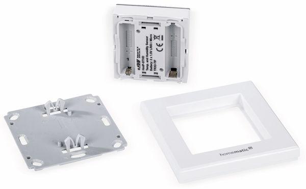 Smart Home HOMEMATIC IP 150180A0, Temp. und Luftfeucht. Sensor mit Display - Produktbild 7