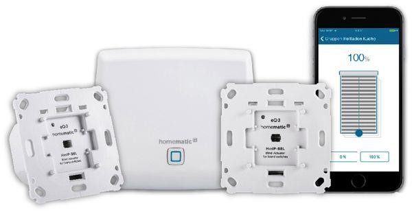 HOMEMATIC IP 151670A0 Smart Home Starter Set Beschattung - Produktbild 1