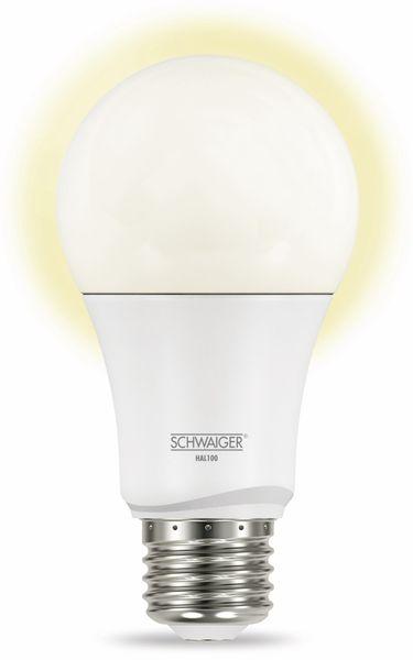 SCHWAIGER HAL100 LED, E27, 806 lm, 9 W - Produktbild 1