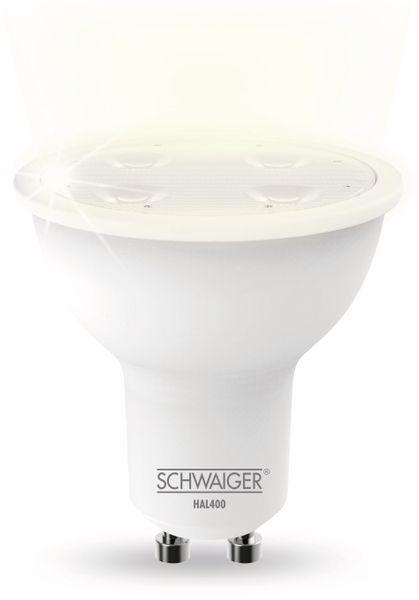 SCHWAIGER HAL400 LED, GU10, 350 lm, 4,8 W - Produktbild 1