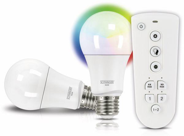 SCHWAIGER HALSET300 LED Multicolor Light, E27